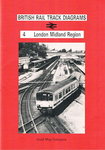 British Rail Track Diagrams 4 London Midland Region