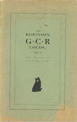 The Robinson G.C.R. Locomotives 1900-23