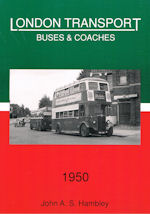 London Transport Buses & Coaches 1950