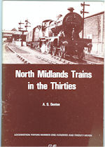 North Midlands Trains in the Thirties