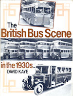 The British Bus Scene in the 1930's