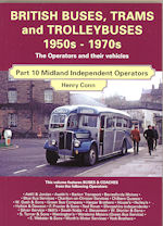 British Buses, Trams and Trolleybuses 1950s - 1970s