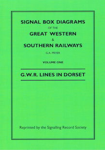 Signal Box Diagrams of the Great Western & Southern Railways
