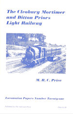 The Cleobury, Mortimer and Ditton Priors Light Railway