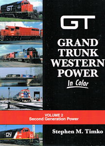 Grand Trunk Western Power in Color