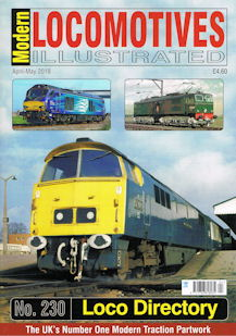 Modern Locomotives Illustrated No. 230 Loco Directory