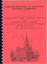 LMS WTT Passenger and Freight Trainss May 1945