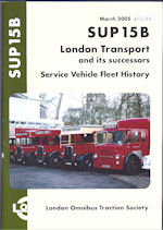 SUP 15B London Transport and its successors