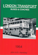 London Transport Buses & Coaches 1954