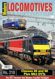 Modern Locomotives Illustrated No 210