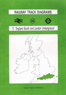 Railway Track Diagrams 5 England South and London Underground