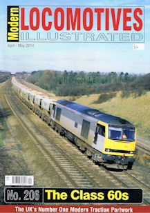 Modern Locomotives Illustrated No 206