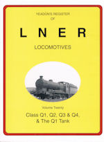 Yeadons Register of LNER Locomotives