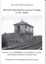 The John Swift Collection British Railways Layout Plans of the 1950s